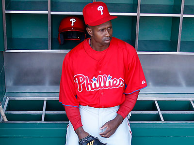 Juan Pierre feels that the Phillies will eventually emerge from their offensive struggles. (Yong Kim/Staff Photographer)