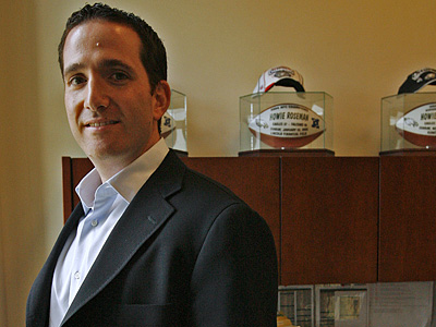 Eagles GM Howie Roseman provided his thoughts on the team´s 2012 draft. (Alejandro A. Alvarez / Staff Photographer)