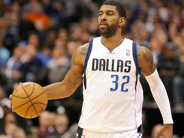 Dallas Mavericks guard O.J. Mayo during an NBA basketball game against the Oklahoma City Thunder, Friday, Jan. 18, 2013, in Dallas. (AP Photo/Matt Strasen)