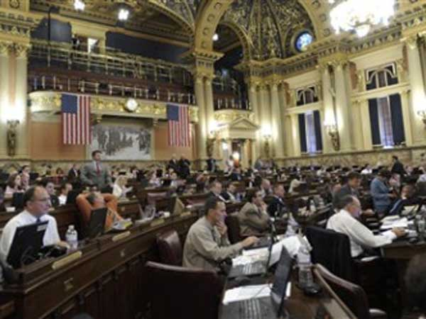 The Pennsylvania House of Representatives. Reports from state lawmakers disclosing gifts are due today. (AP photo)