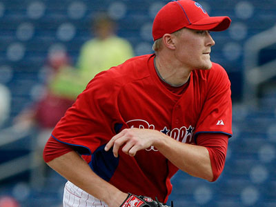Jake Diekman has been promoted to the Phillies, according to reliever Michael Schwimer. (Matt Slocum/AP Photo)