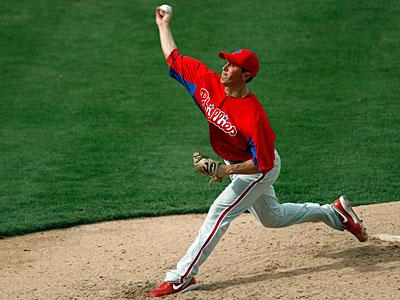 The Phillies added Brian Sanches to the 40-man roster Tuesday. (Paul Sancya/AP)