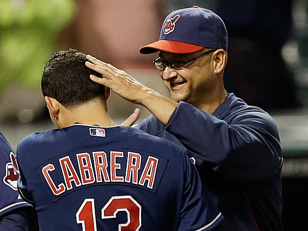 Indians manager Terry Francona raised his record against the Phillies since leaving Philadelphia to 21-8. (Tony Dejak/AP)