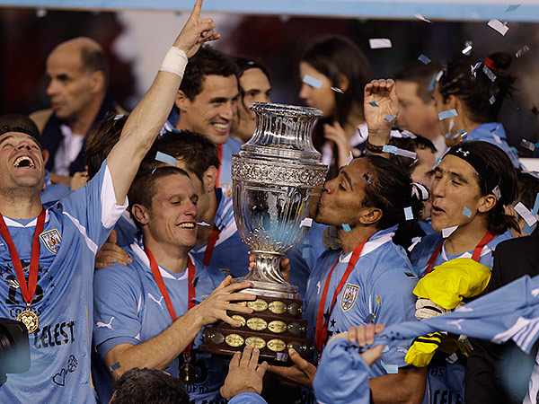 Uruguay won the last Copa America, which was played in 2011. (Eduardo Di Baia/AP file photo)