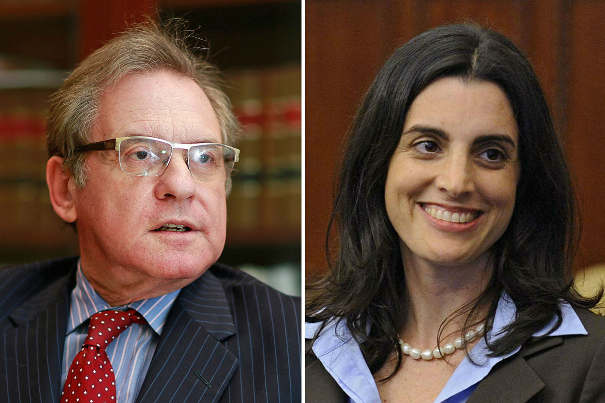 Incumbent City Controller Alan Butkovitz will face Democratic challenger Rebecca Rhynhart in the May 16 Philadelphia primary.