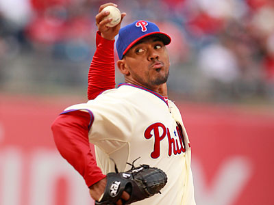 After a shaky start to the season, Antonio Bastardo has pitched better of late. (Ron Cortes/Staff file photo)