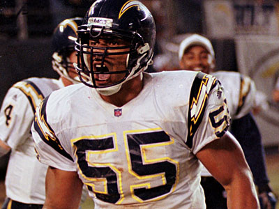 Junior Seau spent 20 years in the NFL. (Denis Poroy/AP file photo)