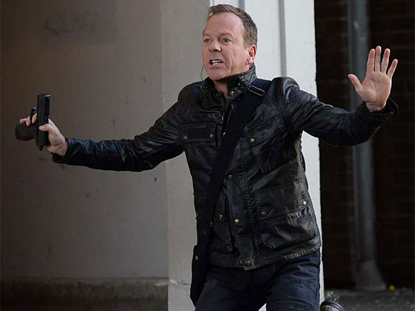 "Kiefer Sutherland is back as Jack Bauer in the 12-episode revival ""24: Live Another Day."" (Fox)"