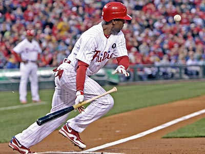 Jimmy Rollins will bat leadoff for the first time since October. (Steven M. Falk/Staff file photo)