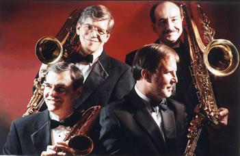 The Washington Saxophone Quartet has toured the world and can be heard on NPR. (Handout photo)
