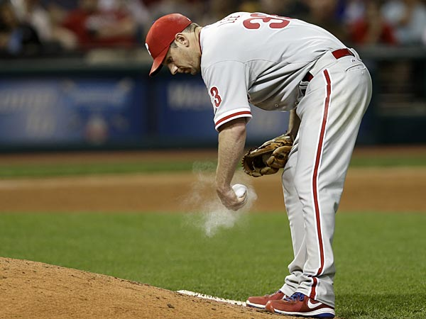 Philadelphia Phillies starting pitcher Cliff Lee. (Tony Dejak/AP)