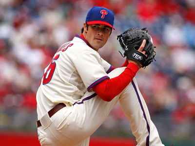 Through five starts, Cole Hamels is averaging 10.6 strikeouts per nine innings. (Ron Cortes / Staff Photographer)