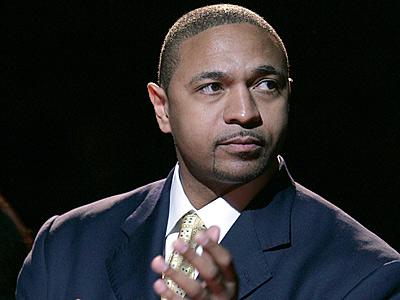 Former NBA point guard and current ESPN analyst Mark Jackson has declined an interview for the Sixers coaching job. (AP Photo/Frank Franklin II, File)