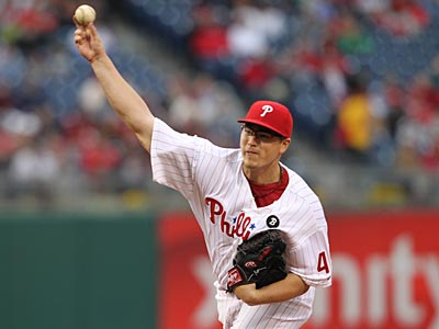 Vance Worley has excelled in two starts with the Phillies this season. (David M Warren/Staff Photographer)