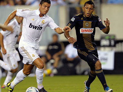 Carlos Valdés was selected to the MLS All-Star team by league commissioner Don Garber. (Michael Perez/AP file photo)