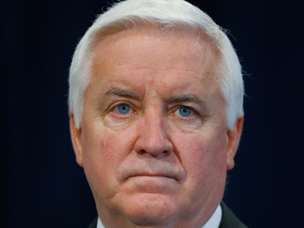 Gov. Corbett  (AP Photo/Matt Rourke)