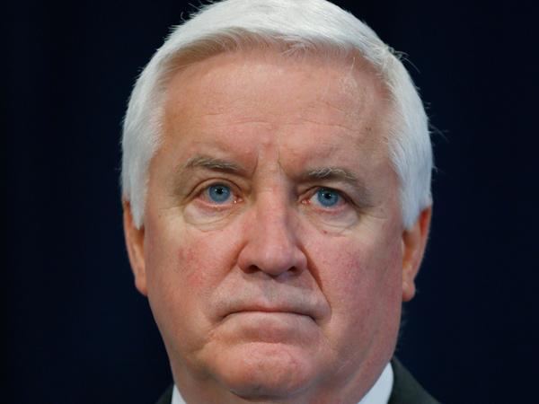 Gov. Corbett  (AP Photo/Matt Rourke)