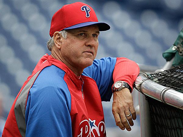 Phillies manager Ryne Sandberg. (Laurence Kesterson/AP)