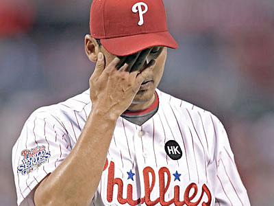 Chan Ho Park struggled as the Phillies´ fifth starter early in 2009 much like Kyle Kendrick has. (Steven M. Falk / Staff Photographer)