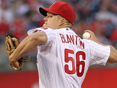 Phillies starter Joe Blanton made just one rehab appearance. (Michael Bryant/Staff Photographer)
