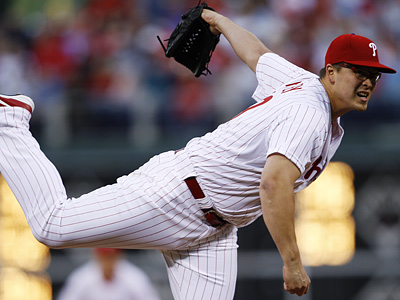Vance Worley pitched three innings of relief in the Phillies´ 6-4 win over the Marlins. (AP Photo/Matt Slocum)
