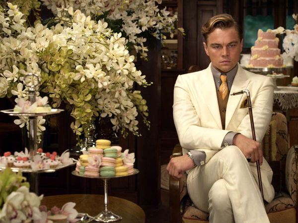 "Leonardo DiCaprio plays the title character, a mysterious millionaire, in Baz Luhrmann´s version of F. Scott Fitzgerald´s ""The Great Gatsby,"" which opens Friday. Narrator Nick Carraway is played by Tobey Maguire. Warner Bros. Pictures"