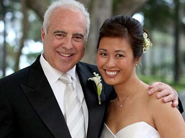 Jeffrey Lurie and his bride, Tina Lai. (Jensen Larson Photography)