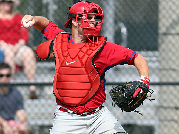 Phillies catching prospect Tommy Joseph. (Yong Kim/Staff Photographer)