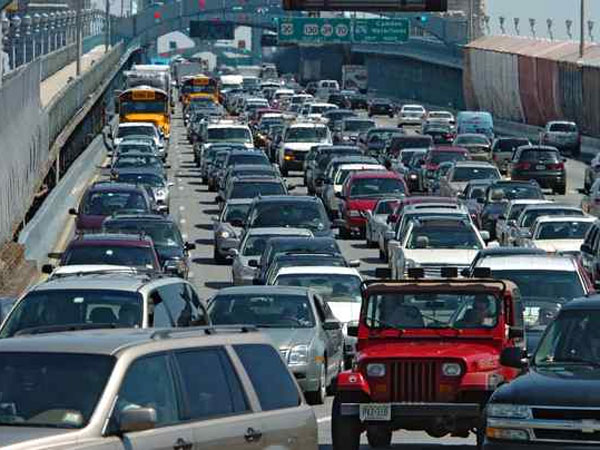 We all know that being stuck in a traffic jam every once in a while is miserable, but some cities are worse than others.  (Clem Murray/Staff Photographer)