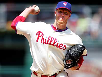 Roy Halladay got his sixth win of the season in a 7-2 victory over the Cardinals. (David Swanson/Staff Photographer)