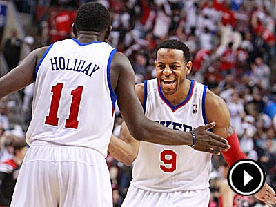 The 76ers currently hold a 3-2 series lead over the No. 1-seeded Bulls. (Ron Cortes/Staff Photographer)