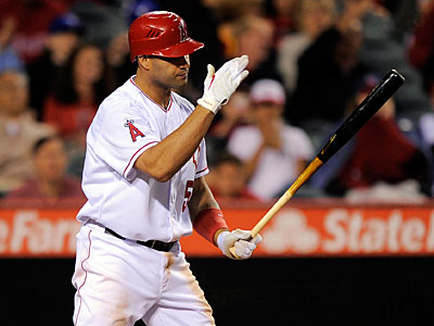 The Angels benched slumping star Albert Pujols on Saturday. (Mark J. Terrill/AP)