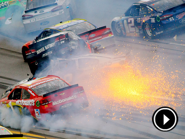 Talladega's race track is renowned as one of the most wild and