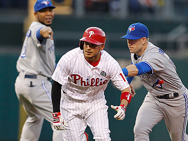 The Phillies´ Freddy Galvis. (Ron Cortes/Staff Photographer)