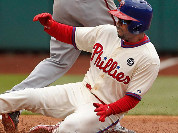 Phillies Jimmy Rollins. (Ron Cortes/Staff Photographer)