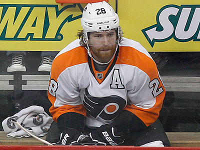 Claude Giroux received a one-game suspension for his Game 4 hit on Dainius Zubrus. (Yong Kim/Staff Photographer)
