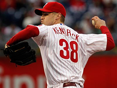 Will Kyle Kendrick get the start on Thursday? (Laurence Kesterson/Staff Photographer)