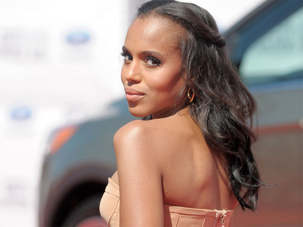 Kerry Washington arrives at the BET Awards on Sunday, July 1, 2012, in Los Angeles. (Photo by Jordan Strauss/Invision/AP)