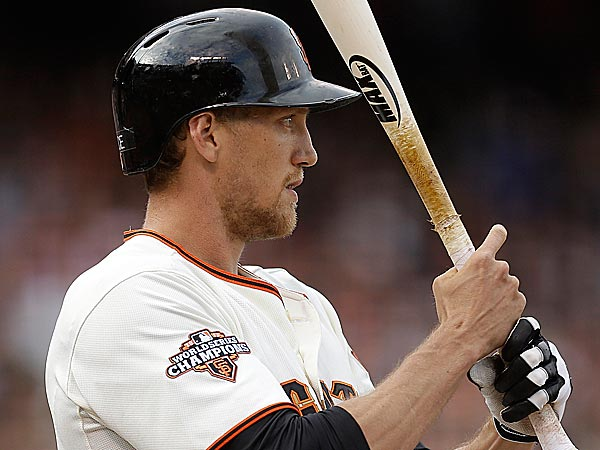 Hunter Pence still has regrets over the 12 months he spent in Philadelphia. (Ben Margot/AP)