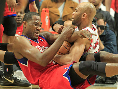 Elton Brand scored just five points in Game 5 against the Bulls. (Ron Cortes/Staff Photographer)