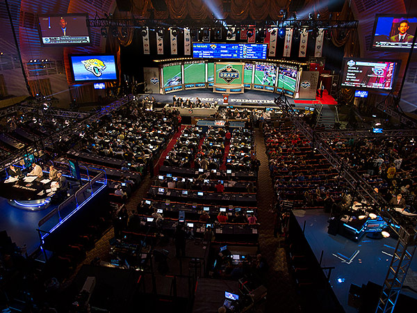 A view of Radio City Music Hall during the 2013 NFL Draft. (Craig Ruttle/AP file photo)