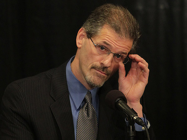 Flyers general manager Ron Hextall. (David Maialetti/Staff Photographer)