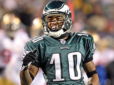 DeSean Jackson tried to clarify his comments about the Donovan McNabb trade. (Steven M. Falk / Staff Photographer)