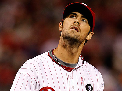 Cole Hamels is still looking for his first win in New York. (Ron Cortes/Staff Photographer)