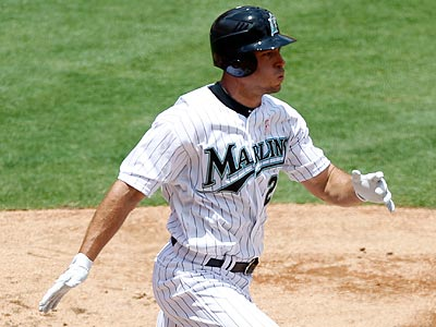 Greg Dobbs is off to a hot start with the Marlins after signing in the offseason. (Alan Diaz/AP)