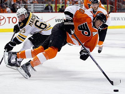 Chris Pronger will see a specialist to determine if the Flyers´ defenseman needs back surgery. (Yong Kim/Staff Photographer)