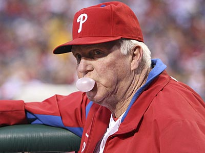 Charlie Manuel and the Phillies have lost six of their last eight games. (Steven M. Falk/Staff Photographer)
