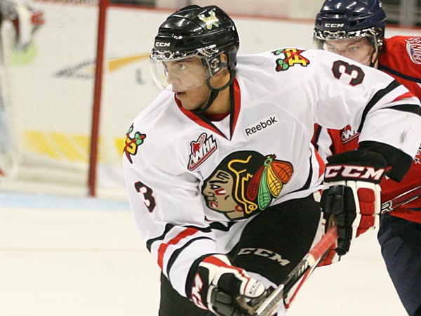 If the Colorado Avalanche draft Seth Jones of the Portland Winterhawks, he will be the first African-American to be drafted first overall in NHL history.(Bryan Heim/Portland Winterhawks)