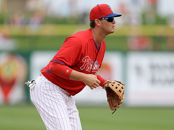 Lehigh Valley´s Reid Brignac has spent some time with the Phillies. (Charlie Neibergall/AP file photo)