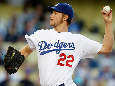 Dodgers pitcher Clayton Kershaw. (AP Photo/Alex Gallardo)